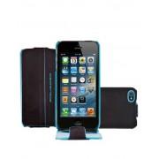 Piquadro Custodia iPhone 5 ½ e 5S ½ guscio patta Mogano AC3054B2/MO