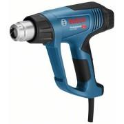 Pistol cu aer cald Bosch Professional GHG 23 66 2300 W 500 l min dedbit aer maxim 50 650 C temperatura lucru + talpa de sudura + 4 duze + geanta transport