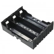 Meco DIY Storage Box Holder Case For 3 x 18650 Rechargeable Battery