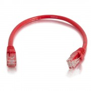 C2G 1m Cat6 Booted Unshielded (UTP) Network Patch Cable - Red