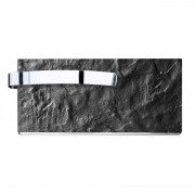 Climastar Slim 250 Toalleros (Leistung/Grösse: 250 W / 25 x 50 cm, Farbe: Black Slate)