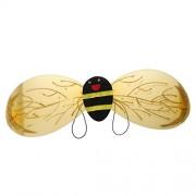 ELECTROPRIME® 4Pc Girls Bumble Honey Bee Kids Child Tutu Dress Halloween Costume Wing Head