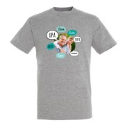 YourSurprise Opa T-shirt - Grijs - L