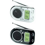 AEG Multibandradio Weltempfänger, 1x UKW, 1x MW, 7x KW, schwarz