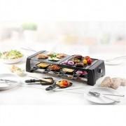 Domo Appareil à raclette-grill avec pierre 8 personnes 1200 W DO9190G Domo