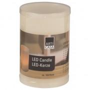 Geen LED kaarsen met houder 15 cm