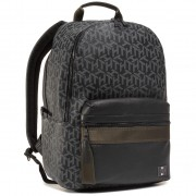 Раница TOMMY HILFIGER - Coated Canvas Backpack AM0AM06466 0GJ