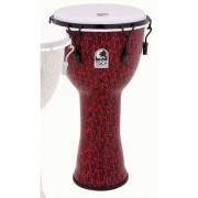 """Toca Percussion Freestyle Djembe TF2DM-12RM, 12"""", Red Mask"""