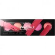 L'Oréal Paris Infaillible Blush Paint paleta de blushes tom The Pinks 10 g