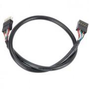 Cablu prelungitor USB intern Akasa EXUSBI-40, 40cm, negru