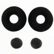 Adecuado para Sennheiser K121 K121S K141 MK II K142 HD Auriculares Negro JZF-110