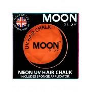 Vegaoo Orange UV-färgkräm för hårfläta från Moonglow© 3,5 g One-size