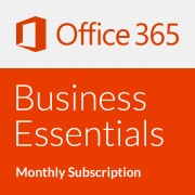 Microsoft Office 365 Business Essentials - Abonament lunar (o lună)