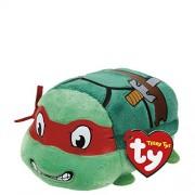 "Ty Teeny Tys Ninja Turtle Raphael Stuffed Animal Small 4"" Plush Toy"