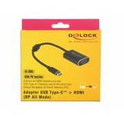 ADAPTOR USB-C LA HDMI (DP ALT MODE) 4K 60 HZ T-M CU PD (POWER DELIVERY)