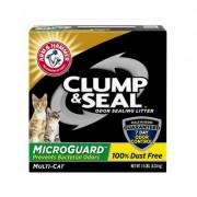 Arm & Hammer Litter Clump & Seal Fresh Scented Clumping Clay Cat Litter, 14-lb box
