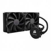 CORSAIR HYDRO H110i; ALL IN ONE LIQUID CPU COOLER; 2x 140MM STATIC PRESSURE FANS; 280MM RADIATOR.