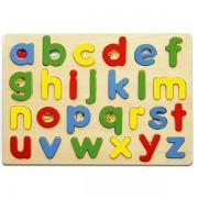 Viga drvena slagalica ABC mala slova 58578E (14155)