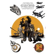 Sticker Star Wars Rezistenta