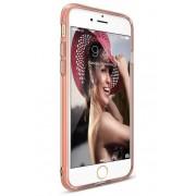 Husa Protectie Spate Ringke Air Rose Gold pentru Apple iPhone 7 si folie protectie display