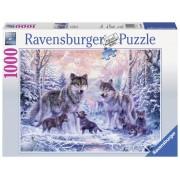 Puzzle Lupi polari, 1000 piese