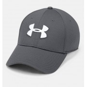 Under Armour Herenpet UA Blitzing II Stretch Fit - Mens - Gray - Grootte: Large