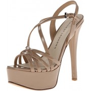 Chinese Laundry Women s Teaser Patent Dress Sandal Nude 7.5 B(M) US