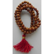 Japa Mala - White Rosary - 6 mm