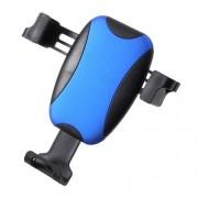 Suport Telefon Auto iPhone X Max Rotire 360 Grade cu Suport Ochelari Albastru