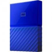 Външен диск HDD External WD My Passport (2.5, 2TB, USB 3.0), Син, WDBYFT0020BBL-WESN