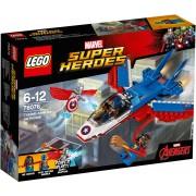 LEGO® MARVEL »Super Heroes« Captain America jet-achtervolging (76076)