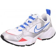 Nike Air Heights Zapatillas para Mujer, Color White/Photo Blue-Metallic Platinum, 7