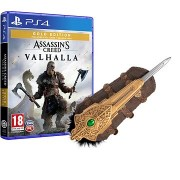 Assassins Creed Valhalla - Gold Edition - PS4 + Eivors Hidden Blade