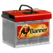 Banner Power Bull Professional 12V 63Ah 600A P6340 autó akkumulátor jobb+