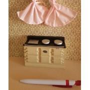 Masina de gatit retro - Aga - Style -miniatura papusi