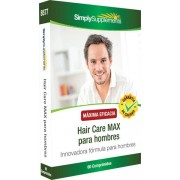Simply Supplements Hair Care MAX para hombres - 60 Comprimidos