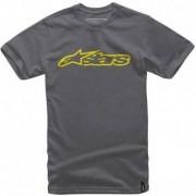 ALPINESTARS Camiseta Alpinestars Classic Blaze Grey / Yellow