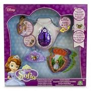 Princesa Sofía Princess Sofia – Amulet Magic, Mini Tiara and 8 Cards with Voice (Giochi Preziosi 58638)