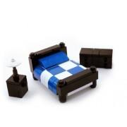 LEGO Furniture: Bedroom Set w/ Dresser