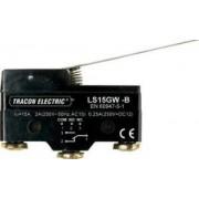 Limitator de cursă cu tijă şi arc - 1xCO, 15A/250V AC, 48mm, IP00 LS15GW-B - Tracon