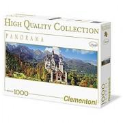 Clementoni Collection-Neuschwanstein Panorama Jigsaw Puzzle (1000 Piece)