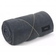 Karmameju Fleece Blanket Grey 140x250 cm