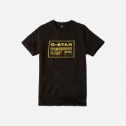 G-star RAW Garçons T-Shirt Noir