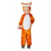 Costum de carnaval de pisicuta portocaliu pentru copii 3-4 ani