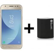 Samsung Galaxy J3 (2017) - 16GB - Goud + speaker