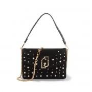 LIU JO Tasche mit Perlen und goldfarbenen Details