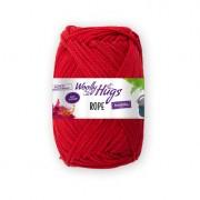 Woolly Hugs Rope von Woolly Hugs, Rot