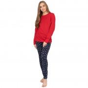 Tommy Hilfiger Dámské pyžamo Tommy Hilfiger (UW0UW02013 088) XS