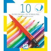 Carioci pensula Djeco, culori pop