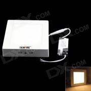 KINFIRE M-25 25W 2048lm 3000K 125-SMD 3528 LED lampara de techo blanca calida - blanco (AC 85 ~ 265V)
